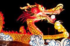 1 освещение дракона Стоковые Фото