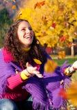 1 осень цветастая Стоковые Фото
