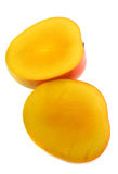 1 отрезанный манго Стоковые Изображения