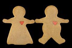 1 пара печенья Стоковая Фотография