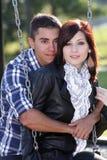 1 пара outdoors романтичная Стоковое фото RF