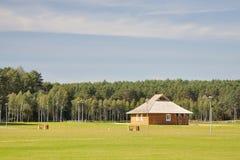 1 парк Литвы ландшафта drushkininkai города Стоковые Фото