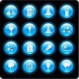 1 партия иконы стоковое изображение rf