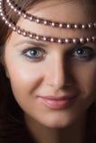 1 перла девушки Стоковые Изображения RF