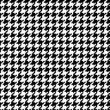 1 пиксел houndstooth Стоковое Изображение