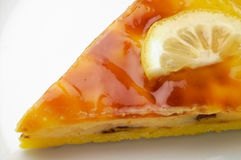 1 пирог лимона крупного плана Стоковые Фотографии RF
