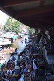 1 плавая рынок Стоковое Фото