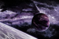 1 планета Стоковая Фотография