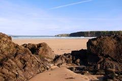 1 пляж ballybunion Стоковые Фотографии RF