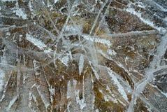 1 поверхность льда Стоковое Изображение
