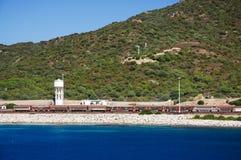 1 поезд моря Стоковое Изображение