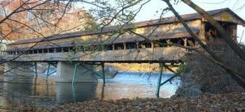 1 покрытый мост Стоковое Фото