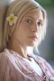 1 портрет конца красотки bali вверх Стоковое Изображение RF