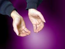 1 предлагать жеста Стоковое фото RF