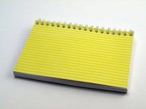1 примечание flip книги управляло желтым цветом Стоковое Изображение RF
