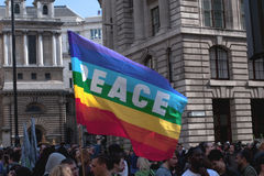 1 протест 2009 -го в апреле g20 Стоковое Изображение RF