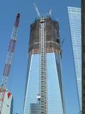 1 разбивочный мир торговлей башни свободы Стоковая Фотография RF