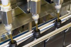 1 разливая по бутылкам процесс Стоковые Изображения RF