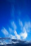 1 разрывало небо вечера Стоковое Фото