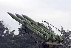 1 ракетный комплекс kub m Военно-воздушных сил Стоковое Изображение