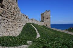 1 рамка крепости старая Стоковые Изображения