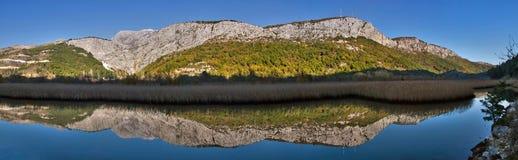 1 река отражения Стоковые Изображения RF