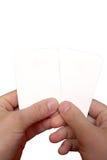 1 решение карточек Стоковое Изображение