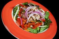 1 салат зажженный цыпленком Стоковое Изображение