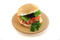 1 салат крена ветчины Стоковые Фото