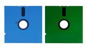 1 сбор винограда флапи-диска 4 5 дисков Стоковые Изображения RF