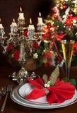 1 свечка рождества Стоковые Фото