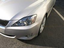1 серебр роскоши автомобиля Стоковая Фотография RF