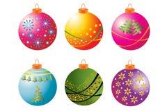 1 собрание рождества bauble Стоковые Изображения RF