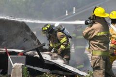 1 спасение пожара Стоковые Изображения RF