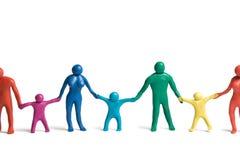 1 спектр семей Стоковое Фото