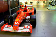 1 спорт формулы ferrari автомобиля Стоковое Изображение