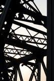1 сталь моста Стоковая Фотография