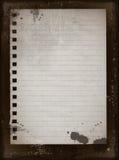 1 старая бумага Стоковые Фото
