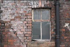 1 старое окно Стоковая Фотография RF