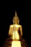 1 статуя Будды золотистая Стоковые Изображения