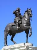 1 статуя короля charles конноспортивная Стоковые Изображения