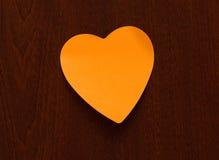 1 стикер сердца Стоковое Изображение