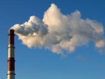 1 стог дыма Стоковая Фотография