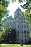 1 столб Квебек городского управления Стоковые Фотографии RF