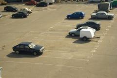 1 стоянка автомобилей Стоковая Фотография