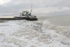 1 страдание кораблекрушением корабля груза aras сухое Стоковая Фотография RF