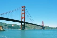 1 строб моста золотистый Стоковое Изображение RF