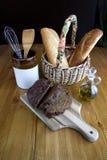 1 таблица дисплея хлеба Стоковое Изображение