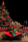 1 таблица рождества Стоковые Фотографии RF