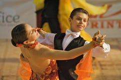 1 танцулька бального зала Стоковая Фотография